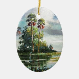 Everglades Art Ceramic Ornament