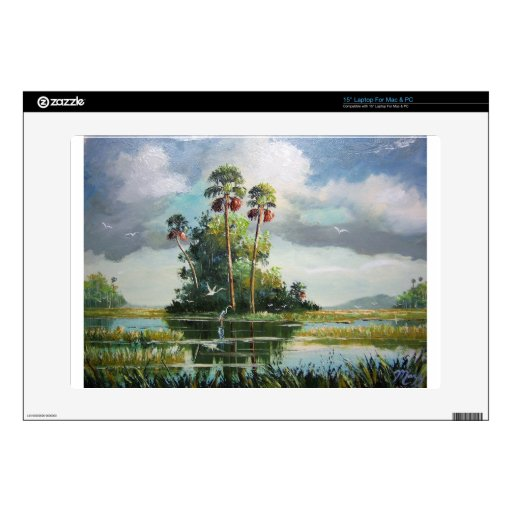 "Everglades Art Decals For 15"" Laptops"