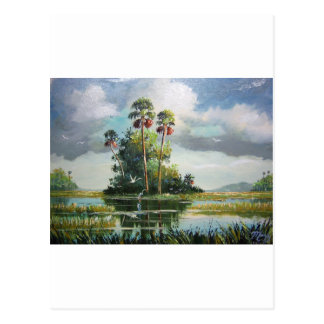 Everglades Art Post Cards