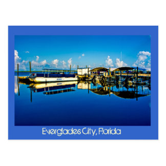 Everglades City, Florida, U.S.A. Postcard