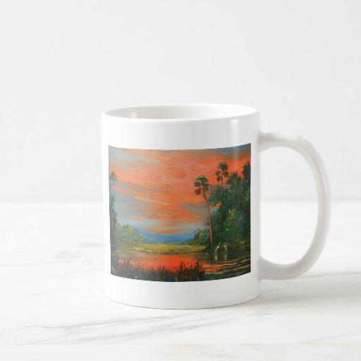 Everglades Fire Sky Classic White Coffee Mug