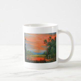 Everglades Fire Sky Coffee Mug