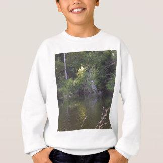 Everglades - Heron in swamp Sweatshirt