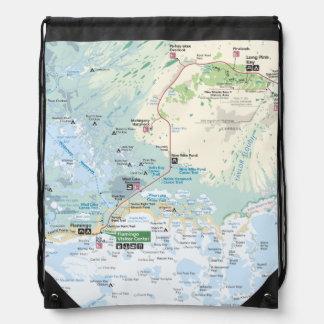 Everglades map backpack