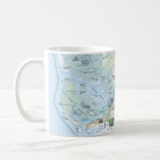 Everglades map mug