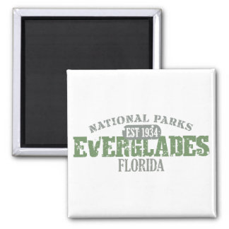 Everglades National Park 2 Inch Square Magnet
