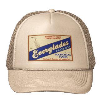 Everglades National Park (Egret) Mesh Hats