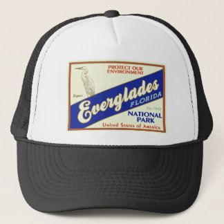 Everglades National Park (Egret) Trucker Hat