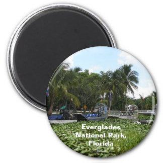 Everglades National Park, Florida 2 Inch Round Magnet