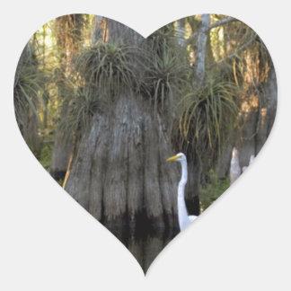 Everglades National Park Heart Sticker