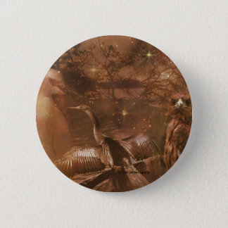 Everglades - National Park in Florida Pinback Button