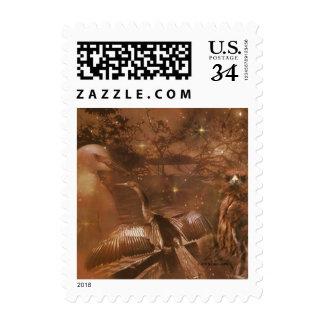 Everglades - National Park in Florida Postage Stamp