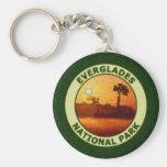 Everglades National Park Basic Round Button Keychain
