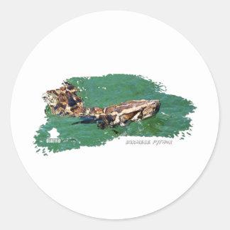 Everglades Python 01 Sticker