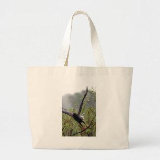 Everglades Snail Kite Jumbo Tote Bag