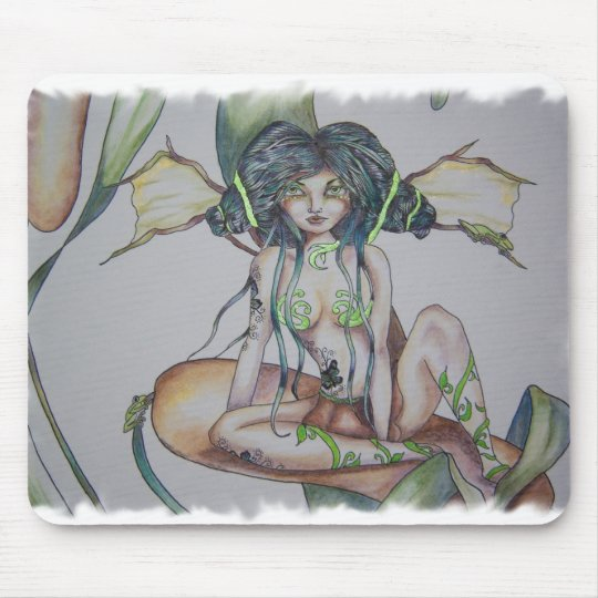 Everglades Tattoo Faery Mouse Pad