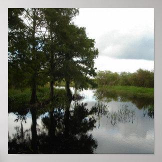 Everglades Waterway Print