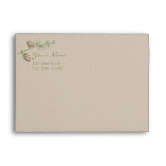 Evergreen A7 Invitation Envelope