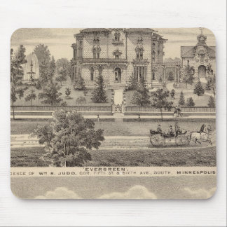 Evergreen and Guilford Place, Minnesota Mouse Pad