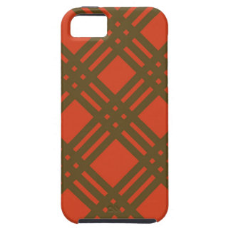 Evergreen and Red Lattice iPhone SE/5/5s Case