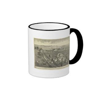 Evergreen Ave Farm Ringer Mug