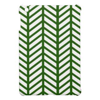 Evergreen Chevron Folders Case For The iPad Mini