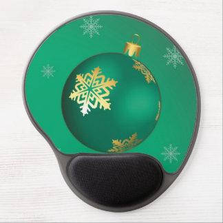 Evergreen Christmas ball Gel Mouse Pads