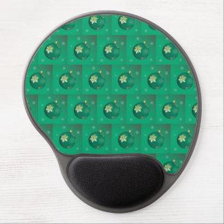 Evergreen Christmas balls Gel Mouse Mats