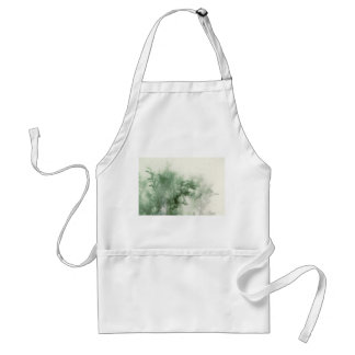 evergreen close-up with texture apron