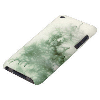 evergreen close-up with texture ipod touch iPod Case-Mate case