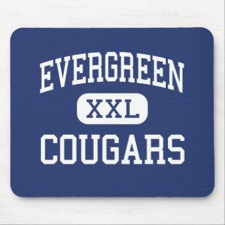 Evergreen - Cougars - High - Evergreen Colorado Mouse Mat