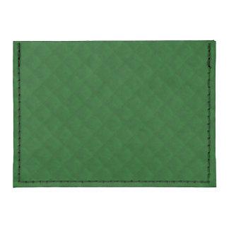 Evergreen Green Quilt Pattern Tyvek® Card Wallet