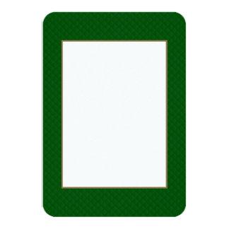 Evergreen Green Quilt Pattern Invites