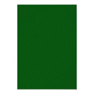 Evergreen Green Quilt Pattern Custom Invitations