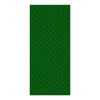 Evergreen Green Quilt Pattern Custom Rack Card