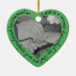 Evergreen Heart Ornament