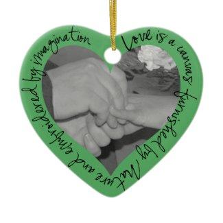 Evergreen Heart Ornament