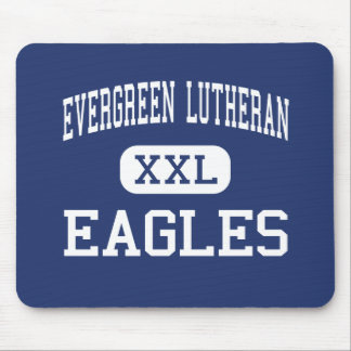 Evergreen Lutheran - Eagles - High - Seattle Mouse Pads