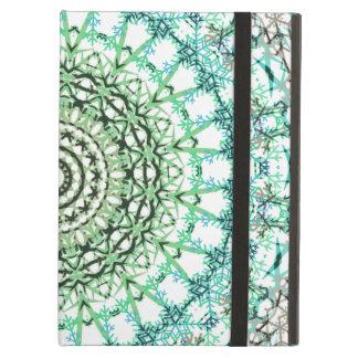 Evergreen Mandala Pattern iPad Air Case
