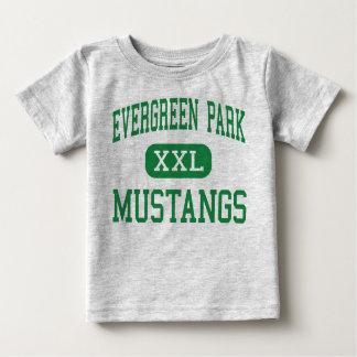 Evergreen Park - Mustangs - Evergreen Park Baby T-Shirt