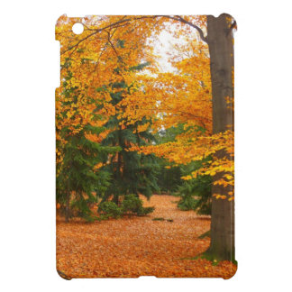 Evergreen Pines and Autumn Trees Cover For The iPad Mini