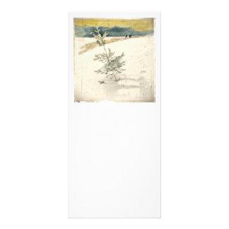 Evergreen Customized Rack Card