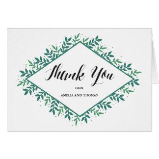 Evergreen - Thank You Card