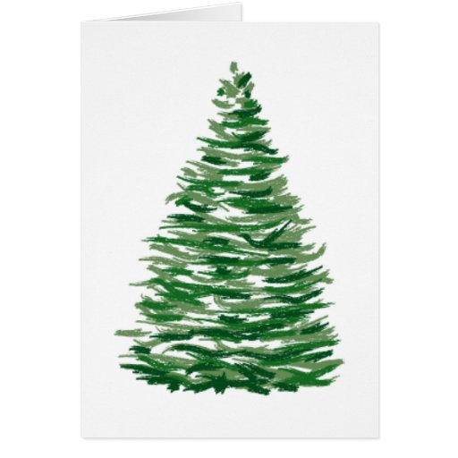 Evergreen Tree Cards