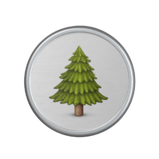Evergreen tree - Emoji Bluetooth Speaker