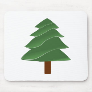 Evergreen Tree Mouse Pads
