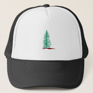 Evergreen Tree Trucker Hat