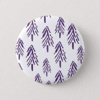 Evergreen Trees in Purple Button