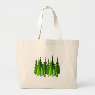 EVERGREEN WAYS LARGE TOTE BAG