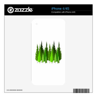 EVERGREEN WAYS SKINS FOR iPhone 4